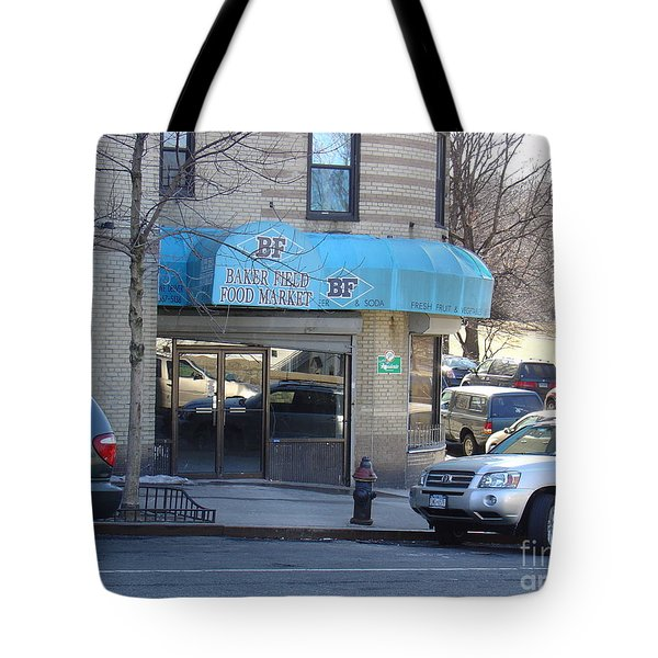 Tote Bag featuring the photograph Baker Field Deli by Cole Thompson