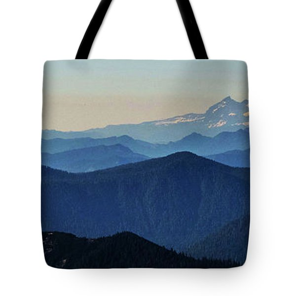 Baker From Pilchuck Tote Bag