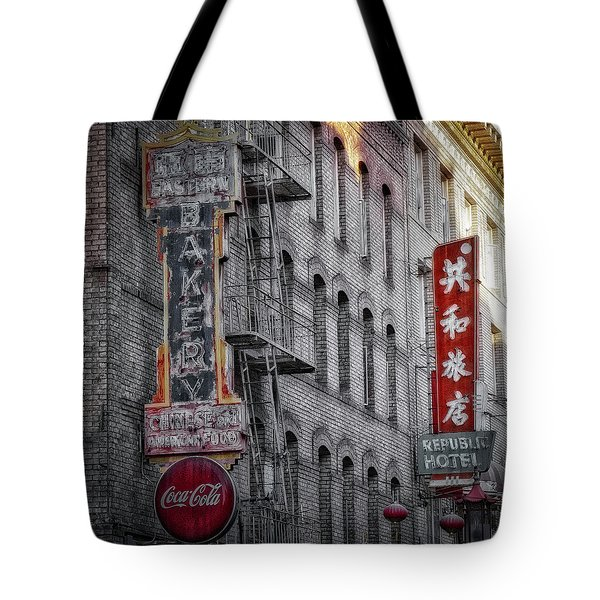 Baker Tote Bag by Jerry Golab