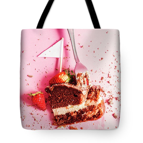 Bakers Downfall Tote Bag