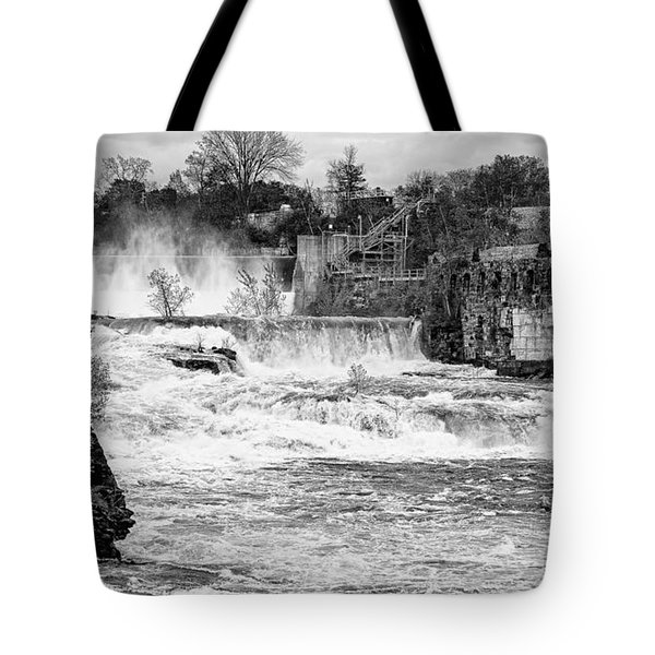 Bakers Falls Tote Bag