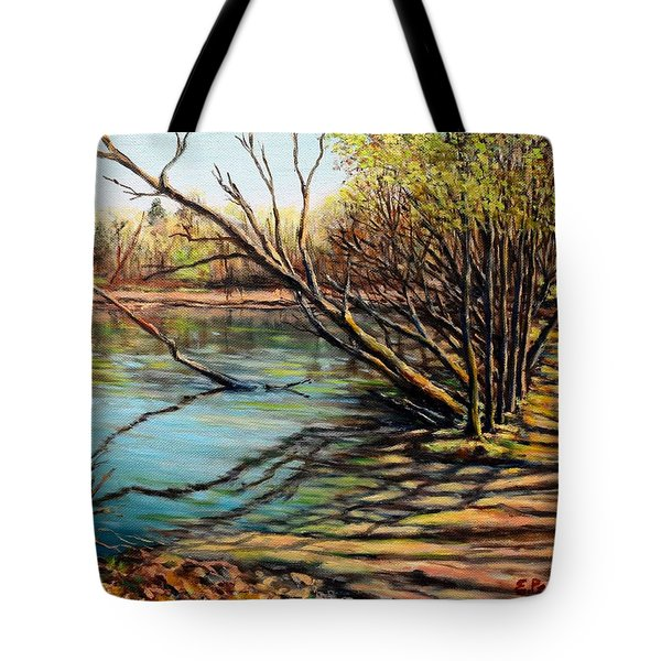 Bakers Pond Ipswich Ma Tote Bag