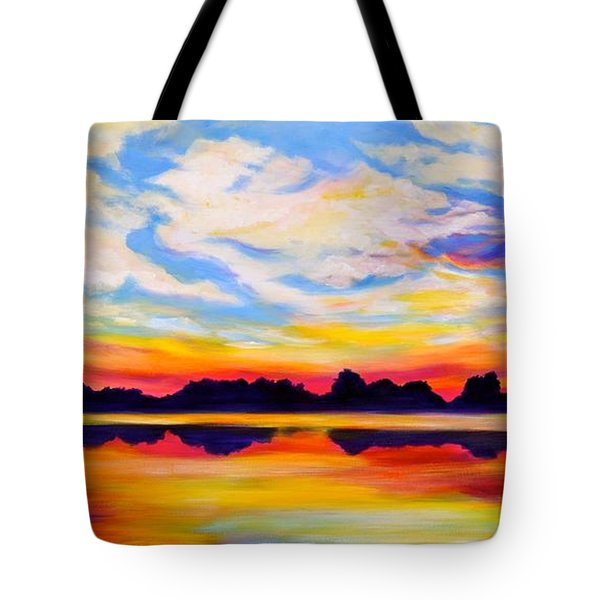 Baker's Sunset Tote Bag