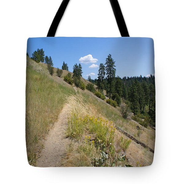 Tote Bag featuring the photograph Bakery Hill by Ben Upham III