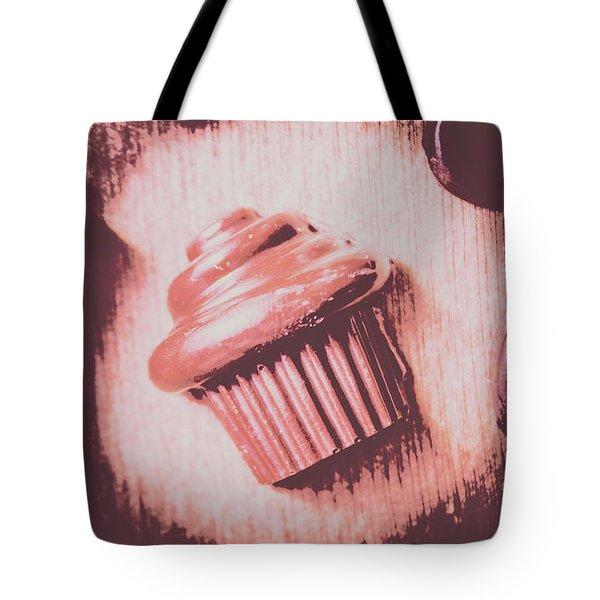 Baking Chocolate Cupcake Tote Bag