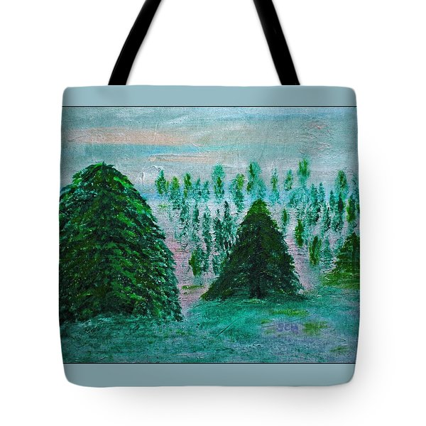 Bakingsoda-vinegar-acrylic-ink And Canvas Tote Bag by Scott Haley