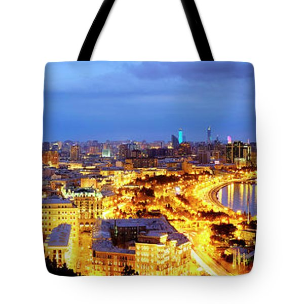 Tote Bag featuring the photograph Baku by Fabrizio Troiani