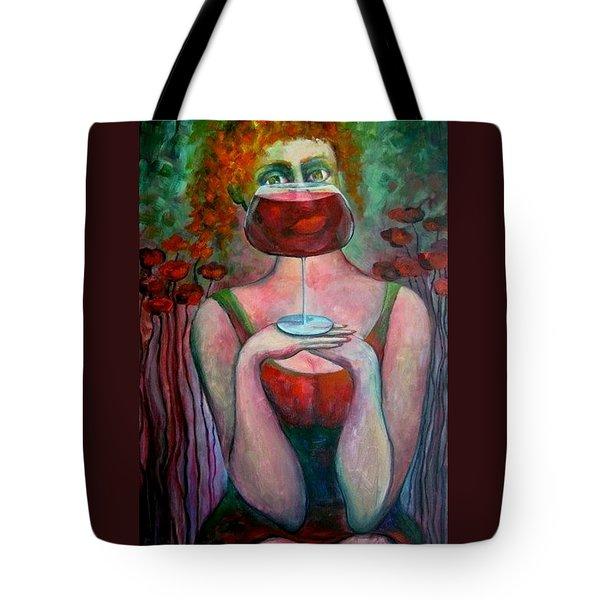 Balance Tote Bag by Elisheva Nesis