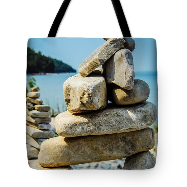Balance Is The Key Tote Bag