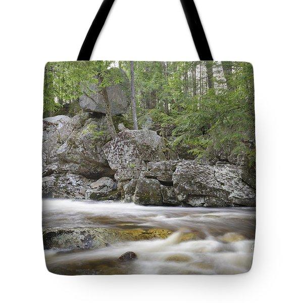 Balance Rock - North Woodstock New Hampshire  Tote Bag