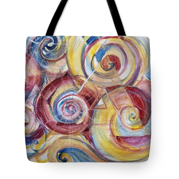 Balanced Awakening Tote Bag