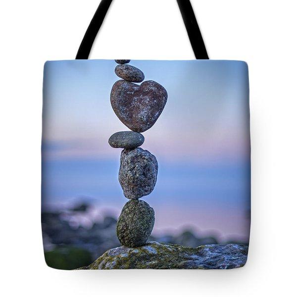 Balanced Heart Tote Bag