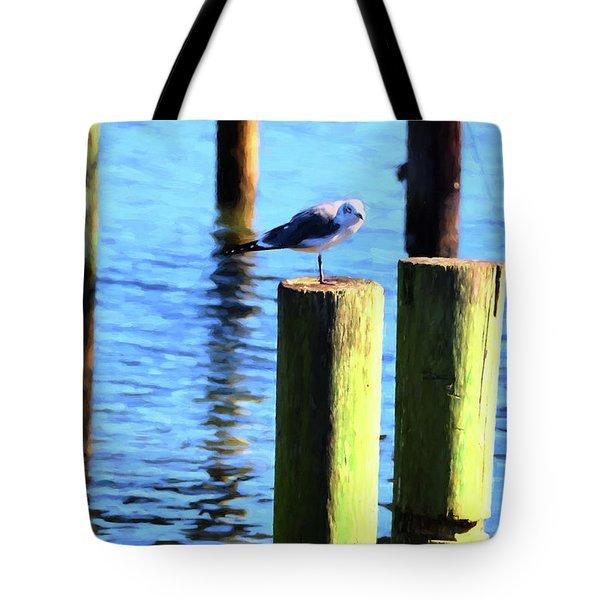 Tote Bag featuring the photograph Balanced by Jan Amiss Photography