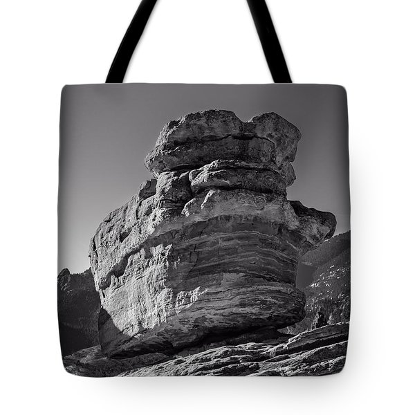 Balanced Rock Tote Bag by Charles Dobbs
