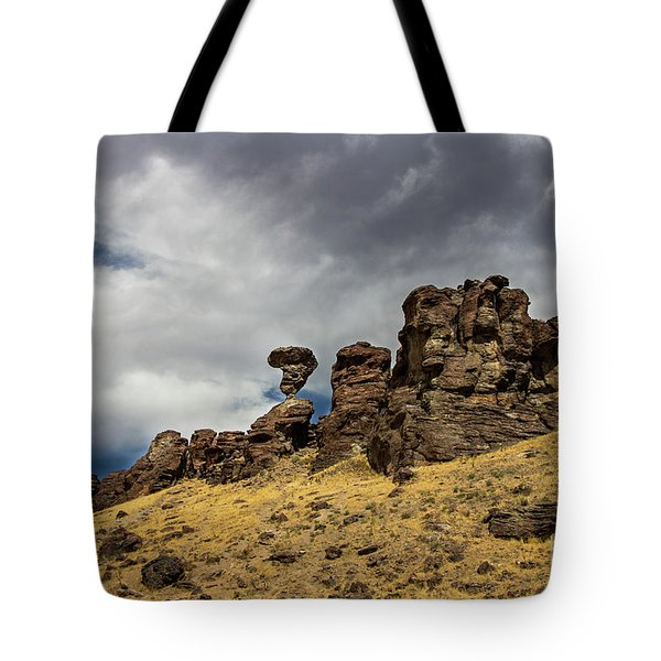 Balanced Rock Idaho Journey Landscape Photography By Kaylyn Franks Tote Bag