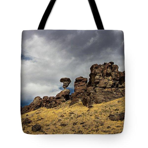 Balanced Rock Idaho Journey Landscape Photography By Kaylyn Franks Tote Bag