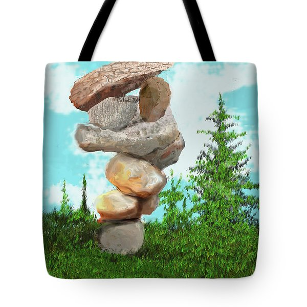 Balanced Rocks #6 Tote Bag