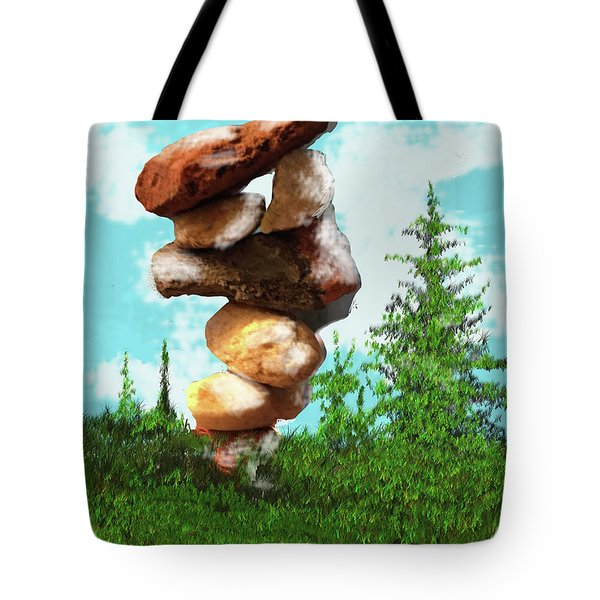 Balanced Rocks #8 Tote Bag