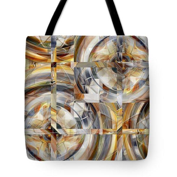 Balanced - Uo31 Tote Bag