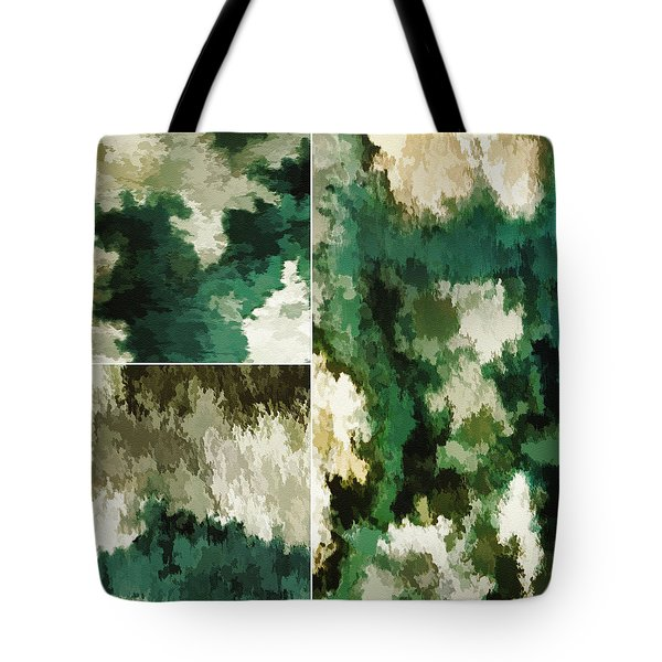 Tote Bag featuring the digital art Balance...five by Tom Druin
