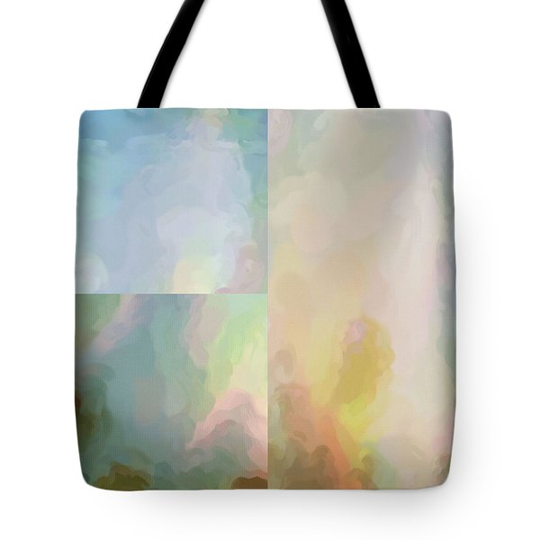Tote Bag featuring the digital art Balance...four by Tom Druin
