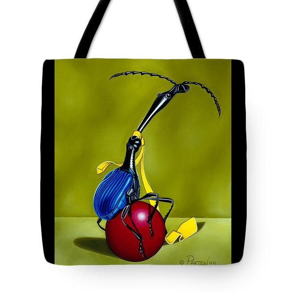 Balancing Act Tote Bag