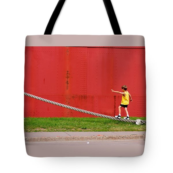 020 - Harbor Time Tote Bag