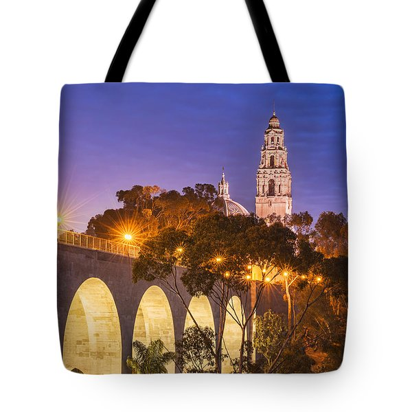Balboa Bridge Tote Bag