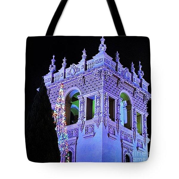 Balboa Park December Nights Celebration Details Tote Bag by Jasna Gopic