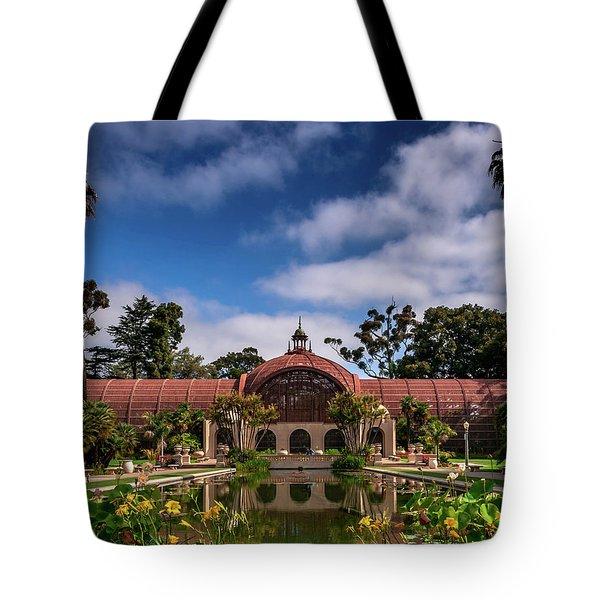 Balboa Park Tote Bag by Martina Thompson