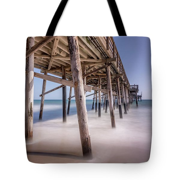Balboa Pier Tote Bag by Jeremy Farnsworth