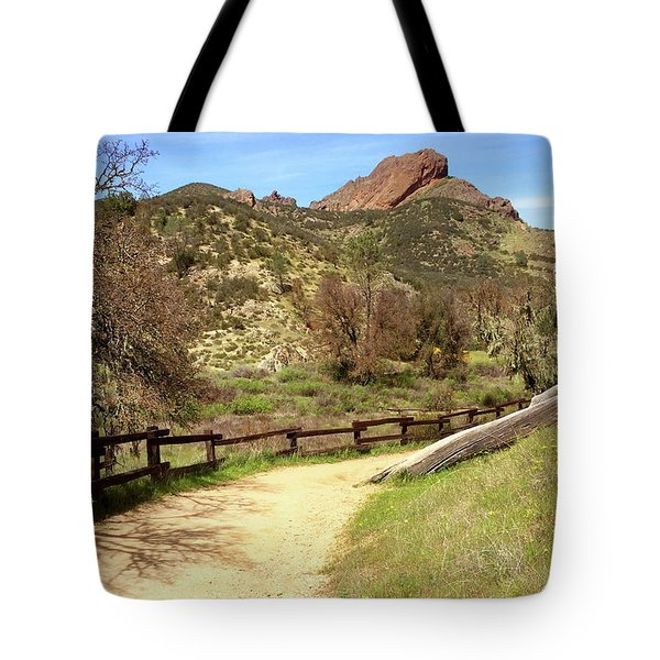 Tote Bag featuring the photograph Balconies Trail - Pinnacles National Park by Art Block Collections
