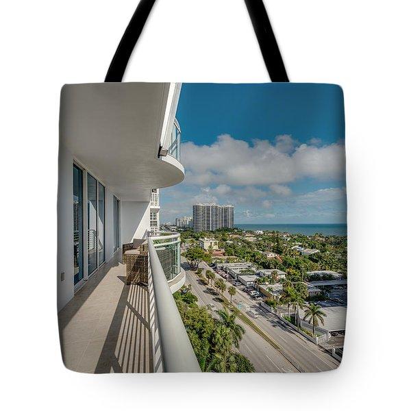 Balcony Life Tote Bag