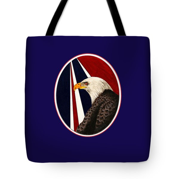 Bald Eagle T-shirt Tote Bag