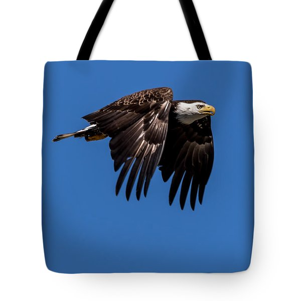 Bald Eagle Hunting Tote Bag
