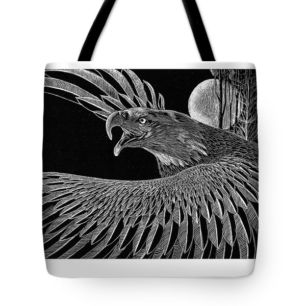 Bald Eagle Tote Bag by Kean Butterfield