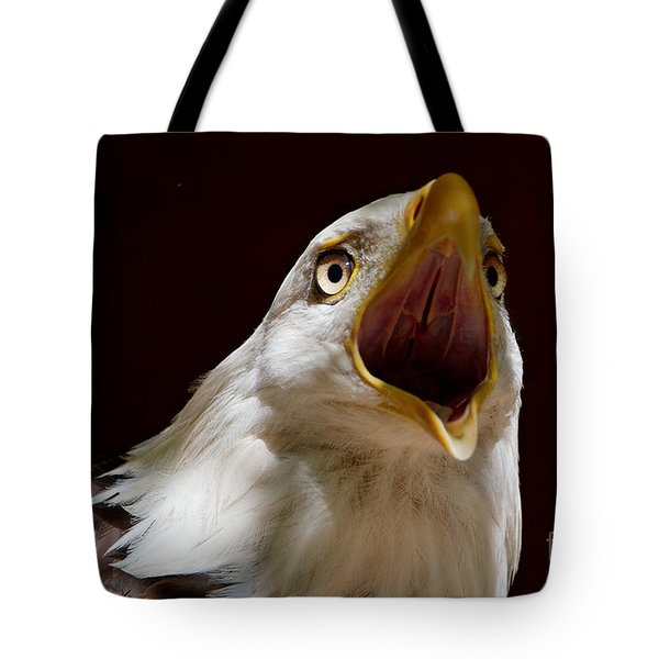 Bald Eagle - The Great Call Tote Bag