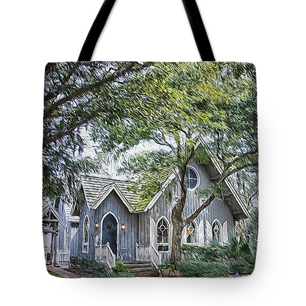 Bald Head Island Chapel Tote Bag