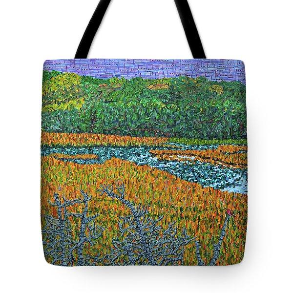 Bald Head Island, Deying Gravity Tote Bag by Micah Mullen