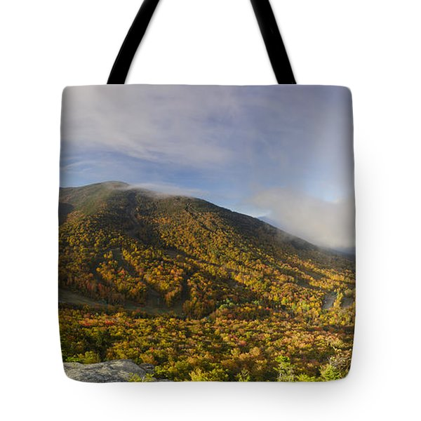 Cannon Mountain - Franconia Notch State Park New Hampshire Usa Tote Bag