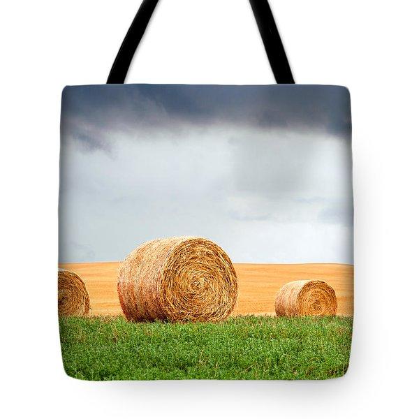 Bales And Layers Tote Bag