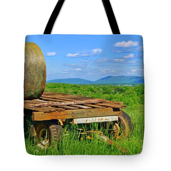 Bales At Rest Tote Bag