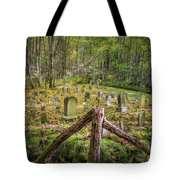 Bales Cemetery Tote Bag