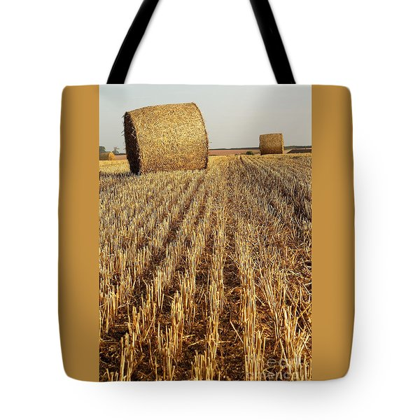 Bales Of Hay Tote Bag