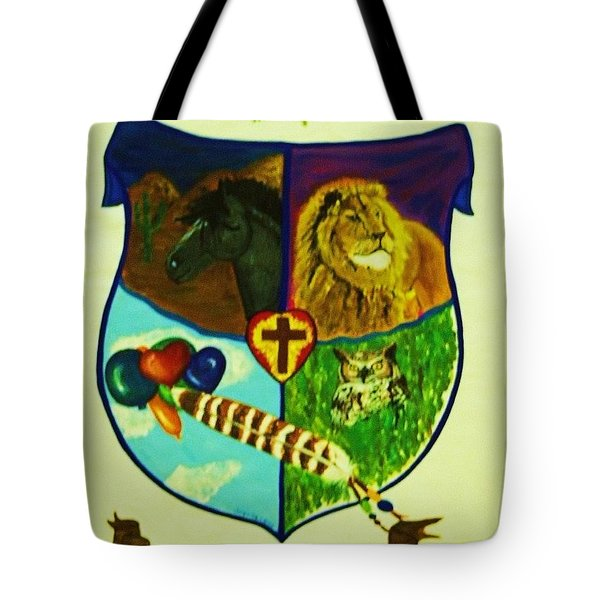 Balestar Crest Tote Bag by Jamey Balester