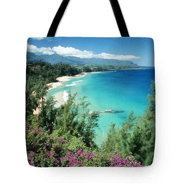 Bali Hai Beach Tote Bag by Dana Edmunds - Printscapes