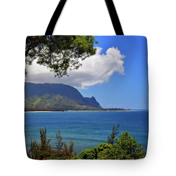 Bali Hai Hawaii Tote Bag