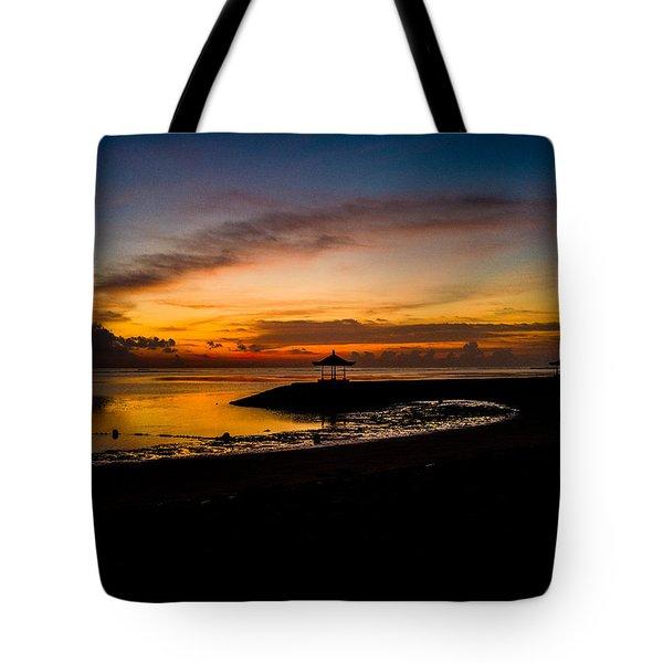 Bali Sunrise I Tote Bag