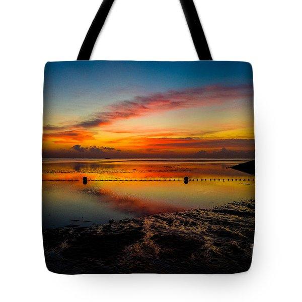 Bali Sunrise II Tote Bag