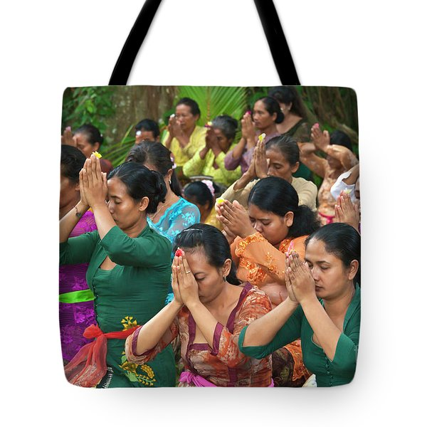 Tote Bag featuring the photograph Bali_d323 by Craig Lovell